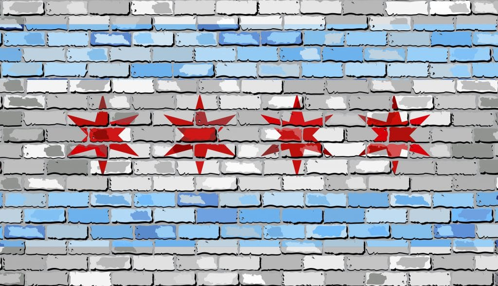 Chicago Stars on Bricks
