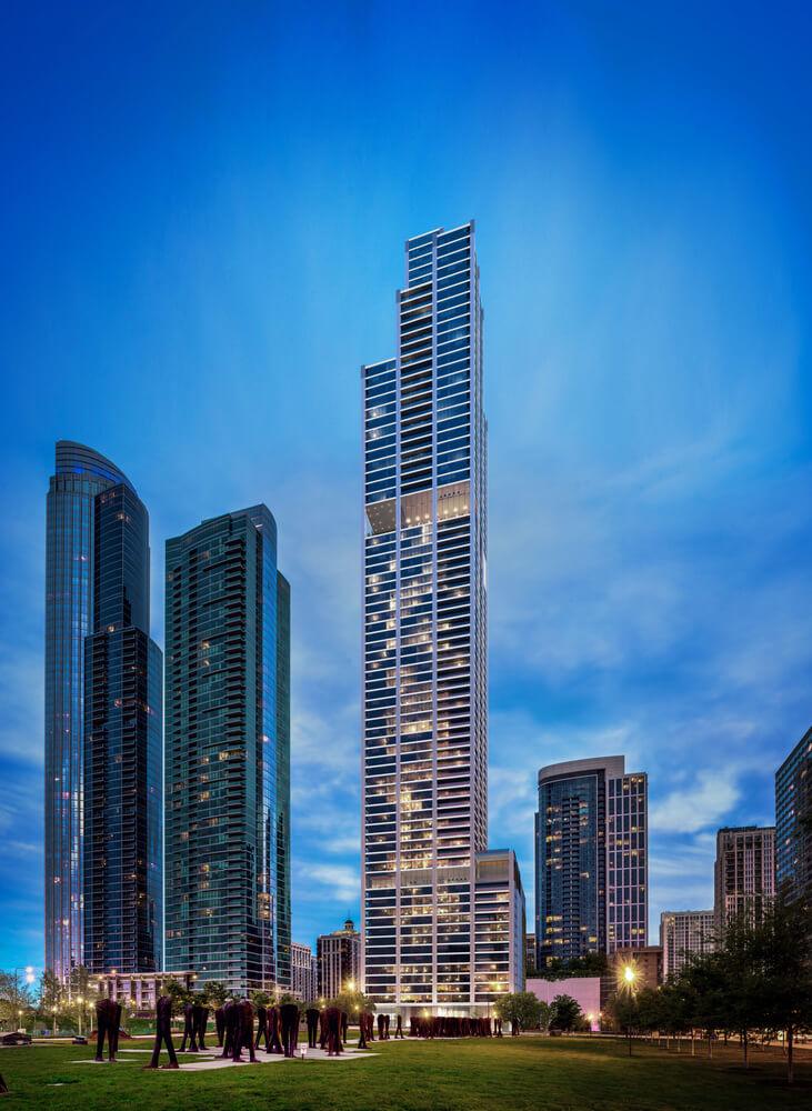 The Nema Tower in Chicago, IL